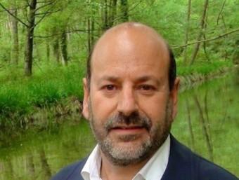 Xavier Cusell, a la Vall del Llémena EL PUNT/ AVUI