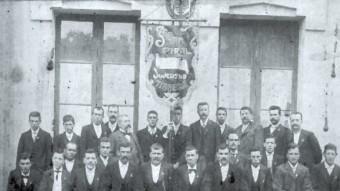 Un moment de la història de l'entitat SOCIETAT CORAL JOVENTUT TIANENCA