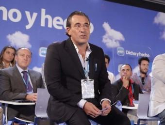 L'alcalde en funcions de Gandia, Arturo Torró. ARXIU
