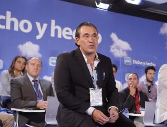 L'alcalde de Gandia amb el president de la Diputació de València. ARXIU
