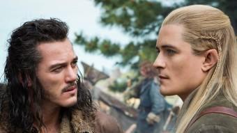 El Bard (Luke Evans) guanya protagonisme a la tercera part d''El hobbit'. També hi apareixen personatges d''El senyor dels anells' com Légolas (Orlando Bloom) WARNER BROS
