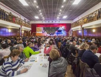 La quina de Garrigàs, una de les més característiques, juntament amb la de Bescanó o La Jonquera, que es celebren, que forma part de les 221 que formen l'agenda a les comarques gironines EL PUNT AVUI