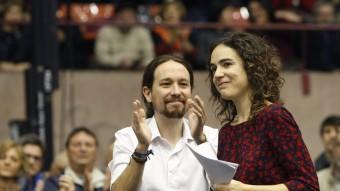 """Iglesias , aplaudeix a Gemma Ubasart que podria liderar """"Podemos"""" a Catalunya."""