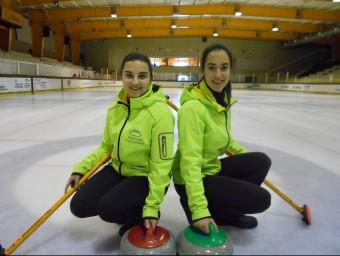 Aroa i Lara a Puigcerdà