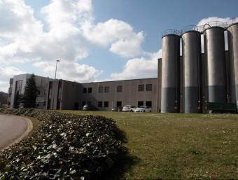 Una imatge de l'empresa Antex d'Anglès, que dóna feina a mig miler de persones. L'alcalde, Pere Espinet, proposa que es desenvolupi el polígon a tocar de les instal·lacions de l'empresa JOAN SABATER