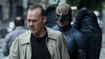 Riggan Thompson (Michael Keaton)  perseguit pel seu 'alter ego' Birdman pels carrers de Nova York 20TH CENTURY FOX