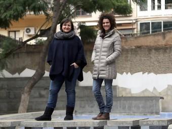 Neus Barberà i Anna Zaera són dos dels tres fundadors de Surtdecasa.  QUIN PUIG