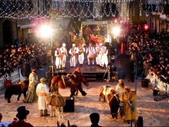 Un dels espectacles per celebrar els Reis d'Orient al Campo Santo.