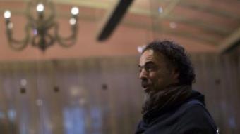 Alejandro González Iñárritu promocionant 'Birdman' a Los Angeles MARIO ANZUONI/REUTERS