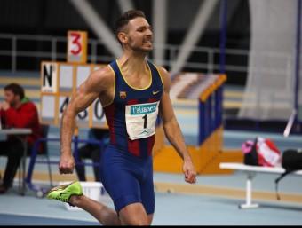 Pau Fradera es va imposar en els 400 m amb 48.32 ELISABETH MAGRE