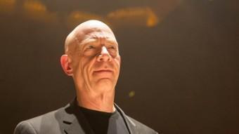 J.K. Simmons ha guanyat el Globus d'Or al millor actor secundari pel seu paper de mestre musical a 'Whiplash' SONY