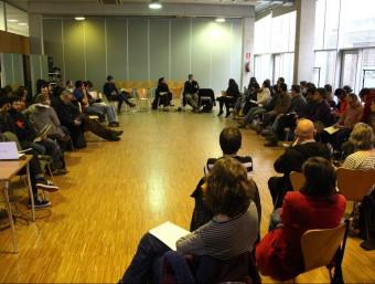 El centre cívic Joan Oliver 'Pere Quart' de Barcelona ha acollit les jornades de formació de la CUP ACN