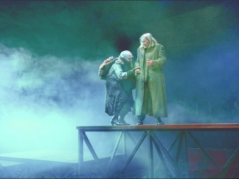 Lluís Pasqual's vision of King Lear (in Catalan) is on at Montjuïc's Lliure theatre until February 22.  ROS RIBAS