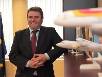 Vicenç Pallarès s'absté de valorar si hi ha hagut decisions desencertades que hagin afavorit Barcelona en detriment de Reus i Girona i diu que el poder de tria és de les companyies.  JUDIT FERNANDEZ