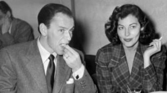 Frank Sinatra, marit d'Ava Gardner i potser l'amor de la seva vida ARXIU