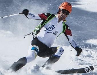 Jornet, en la cursa de la Font Blanca de l'any passat ISMF
