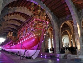 Les drassanes de Barcelona van contribuir a incrementar el comerç marítim.  ARXIU /JUANMA RAMOS