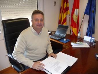 Jaume Borrell en una imatge d'arxiu quan era alcalde de Sant Cebrià de Vallalta per CiU. T.M
