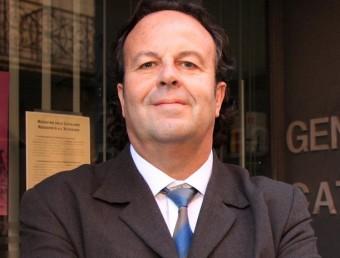 Josep Puigbert, director de vla delegació del govern català a Perpinyà. JOAN SABATER