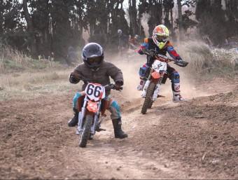 Un moment de la cursa de 50 cc PENYA MOTORISTA FIGUERES