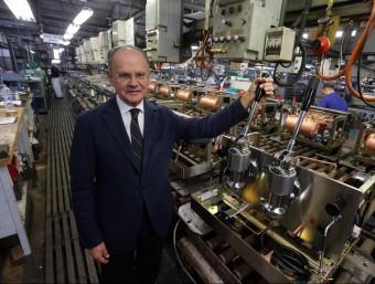 Jorge Roure és el director general d'aquest històric fabricant de màquines de cafè per a ús professional.  QUIM PUIG