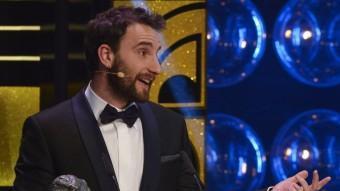 Dani Rovira, presentador de la gala, també va rebre un Goya a millor actor revelació PEDRO ARMESTRE/AFP
