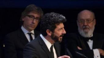 Alberto Rodríguez, gran triomfador de la gala amb 'La isla mínima' AFP