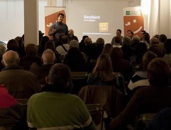 Reunió ciutadana organitzada per Compromís per Benifairó. EL PUNT AVUI