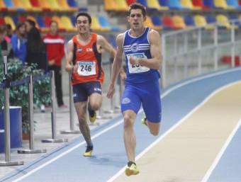 Sergio Ruiz, títol, rècord del campionat i millor marca estatal de l'any  21.33  ORIOL DURAN