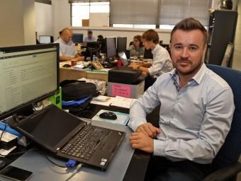 Philippe Gelis, cofundador de la firma Kantox.  ARXIU /JUANMA RAMOS