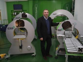 Jordi Guimet és el director general de Plasticband.  ORIOL DURAN