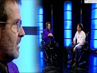 Sala i Martin with Neil Stokes on El Punt Avui TV. /  ARCHIVE