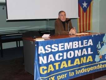 Alfons Duran-Pich també ha escrit llibres sobre la independència de Catalunya.  ARXIU