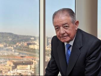 Salvador Gabarró, president de Gas Natural Fenosa.  ARXIU