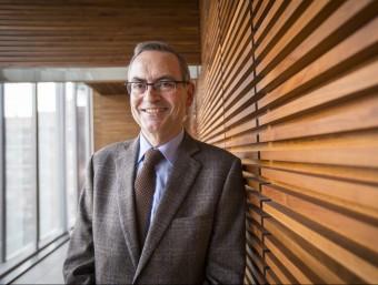 L'economista Joan Elias és coautor, amb Joan Maria Mateu, de l'estudi que analitza el risc sobirà d'una hipotètica Catalunya sobirana  ALBERT SALAMÉ