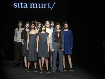 Sita Murt's 2015 collection was a homage to her role in the industry.  JOSEP LOSADA