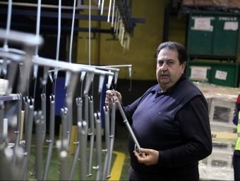 Carlos Rodríguez, gerent i màxim accionista de la firma Pinter.  QUIM PUIG