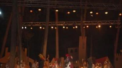 Representació de la Llegenda de St. Jordi 2012. B. SILVESTRE