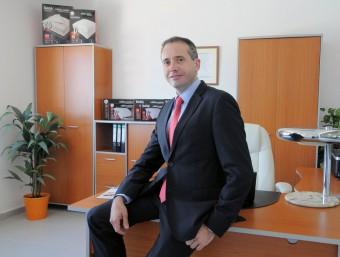 El director general de Daga, Àngel Ruidalbàs, al seu despatx.  ARXIU/DAGA