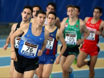 Adel Mechaal va ser subcampió de 1.500 m el 2014 a Sabadell JUANMA RAMOS