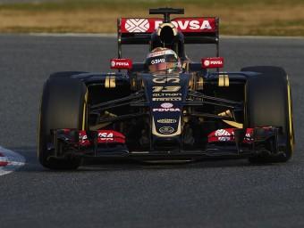 Maldonado va muntar el pneumàtic tou i va ser el més ràpid a Montmeló, ahir SIU