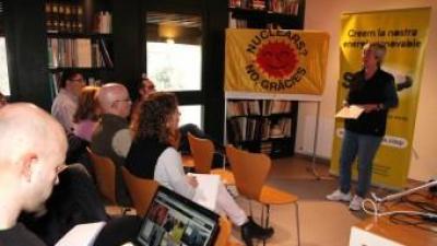 Presentació a Girona del nou projecte de Som Energia.  JOAN SABATER