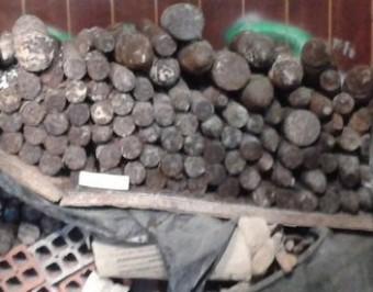Els projectils estaven amagats enmig de runa i mobles vells CME