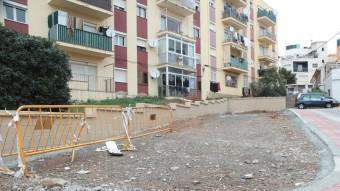 El barri del Sot dels Canyers de Sant Feliu on s'hi fan obres de millora. E.A