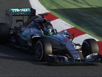 Rosberg va demostrar que el Mercedes segueix estant un pas al davant de la resta SIU