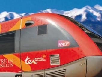 El tren regional TER té una part de les seves places reservades al preu d'1 euro.