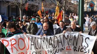 La Marxa pèls Drets Socials , celebrada l'any passat a Girona. LLUÍS SERRAT