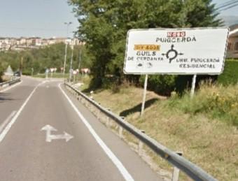 L'accident d'ahir es va produir a les portes de Puigcerdà, a la carretera N-260 EL PUNT AVUI