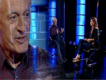 Steve Brown with Nicole Millar on EL PUNT AVUI TV/  ARCHIVE