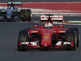 Vettel, al Circuit de Barcelona-Catalunya SIU
